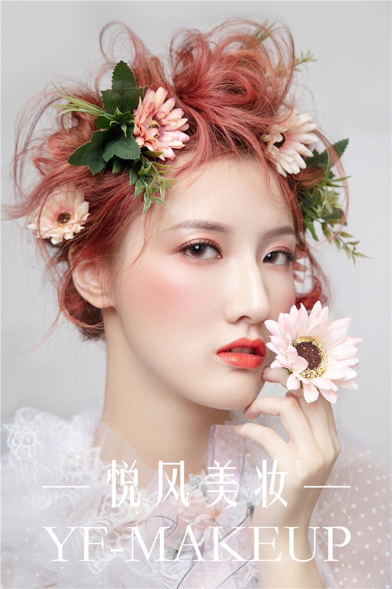鲜花新娘唯美灵动  森系风格气质吸睛